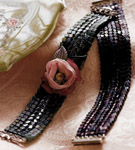 Ndebele Bracelet (with sui flower)